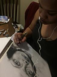 LaToya Drawing